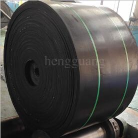 Conveyor belt for chemical plant