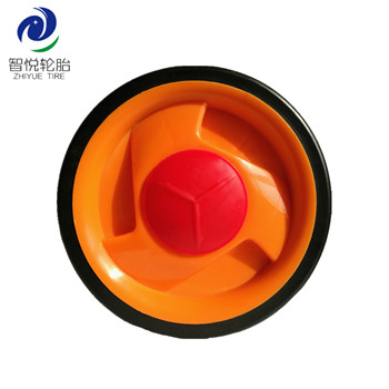 China hot sale 4 inch pvc plastic wheel for kids bike training ice cooler wholesale