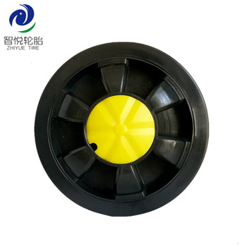 5 inch pvc plastic wheel hot sales cheap for kids bicycle training support cooler box wholesale