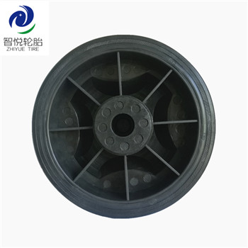 China High quality 7 inch pvc plastic wheel for air compressor generator log splitter wholesale