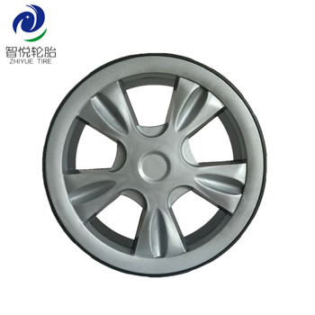 China factory price 7 inch plastic wheel for lawn mower vaccum cleaner bbq grill wholesale