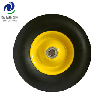 Hot selling wheel tyre 10 inch semi pneumatic rubber wheel for oil filled heater hand trolley generator wholesale