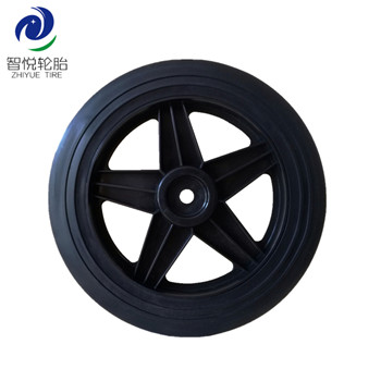 Hot sale cheap 10 inch pvc plastic wheel for dehumidifier vaccum cleaner lawn spreader wholesale