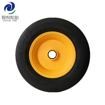 Rubber tires 10 inch semi pneumatic rubber wheel for wagon cart hand trolley generator wholesale
