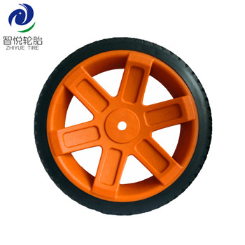 Industrial hot sale 10 inch pvc plastic wheel for dehumidifier generator wheel lawn mower