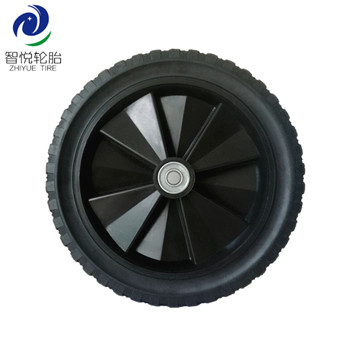 Hot sale wheel tyre 12 inch semi pneumatic rubber wheel for pressure washer dehumidifier lawn spreader