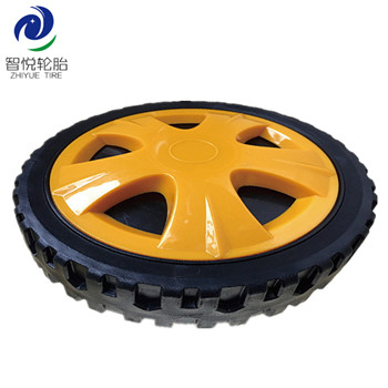 High Durability cheap 8 inch pvc plastic wheel for lawn mower bbq grill storage box  wholesale