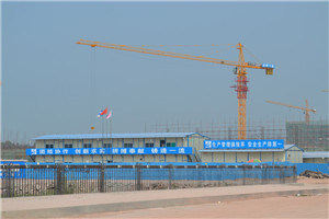 QTZ160(TC7015) Self-Erecting Construction Building Topkit Tower Crane