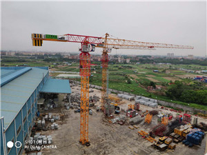 QTP160(TCT7016)   Construction Building Topless Tower Crane
