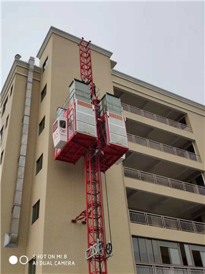 SCG200/200G High Speed Building Construction Passenger Lifting  Lift Elevator Construction  Hoist