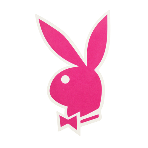 Custom Clear Stickers | Playboy Logo Custom Stickers |  ™