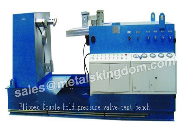 Flipped Double Holding Pressure Type Valve Test Bench Flipped Double Hold Pressure Valve Test Bench Valve Pressure Test Bench