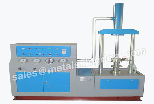 Top Pressure SYTL150/7.5-32 Type Vertical Valve Test Bench Top Pressure Vertical Valve Test Bench Valve Pressure Test Bench