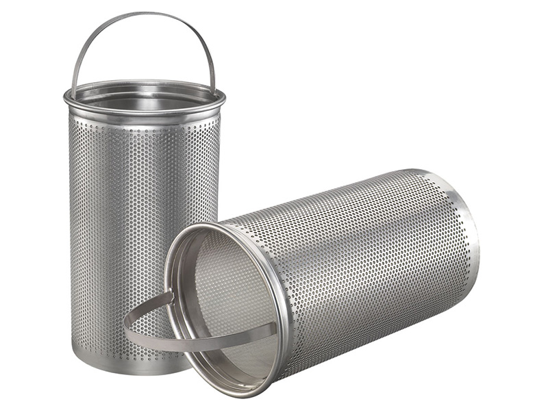 Stainless Steel Wire Mesh Strainer Basket  Perforated Baskets wholesale    Filters & Baskets