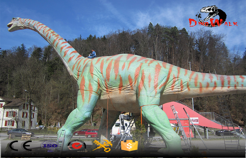 museum supply outdoor attractive animatronic dinosaur model