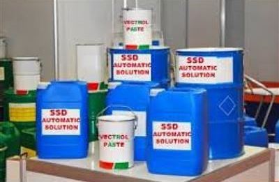 Buy High quality ssd solution and chemical for cleaning defaced black bank