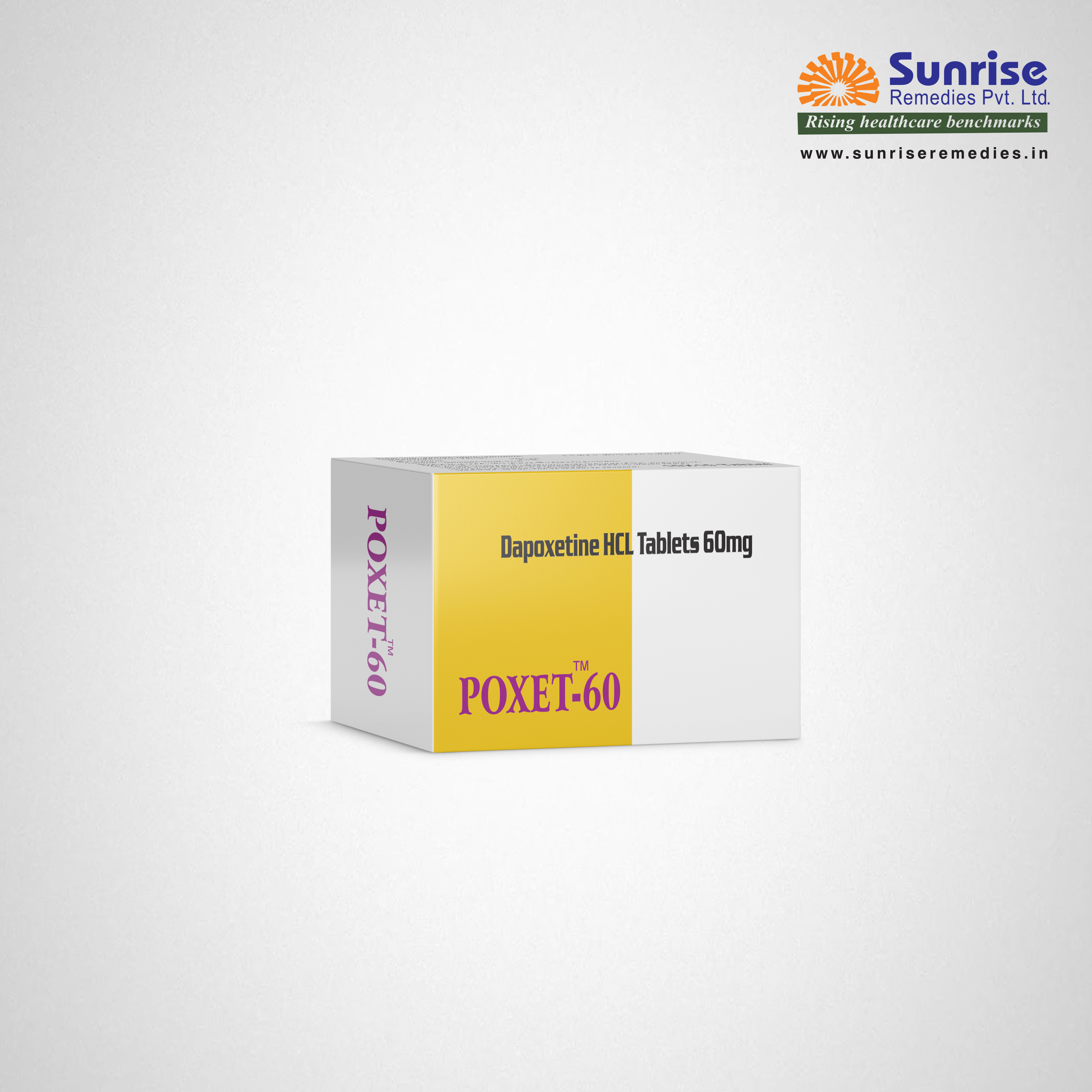 Poxet 60 | Dapoxetine | Sunrise Remedies
