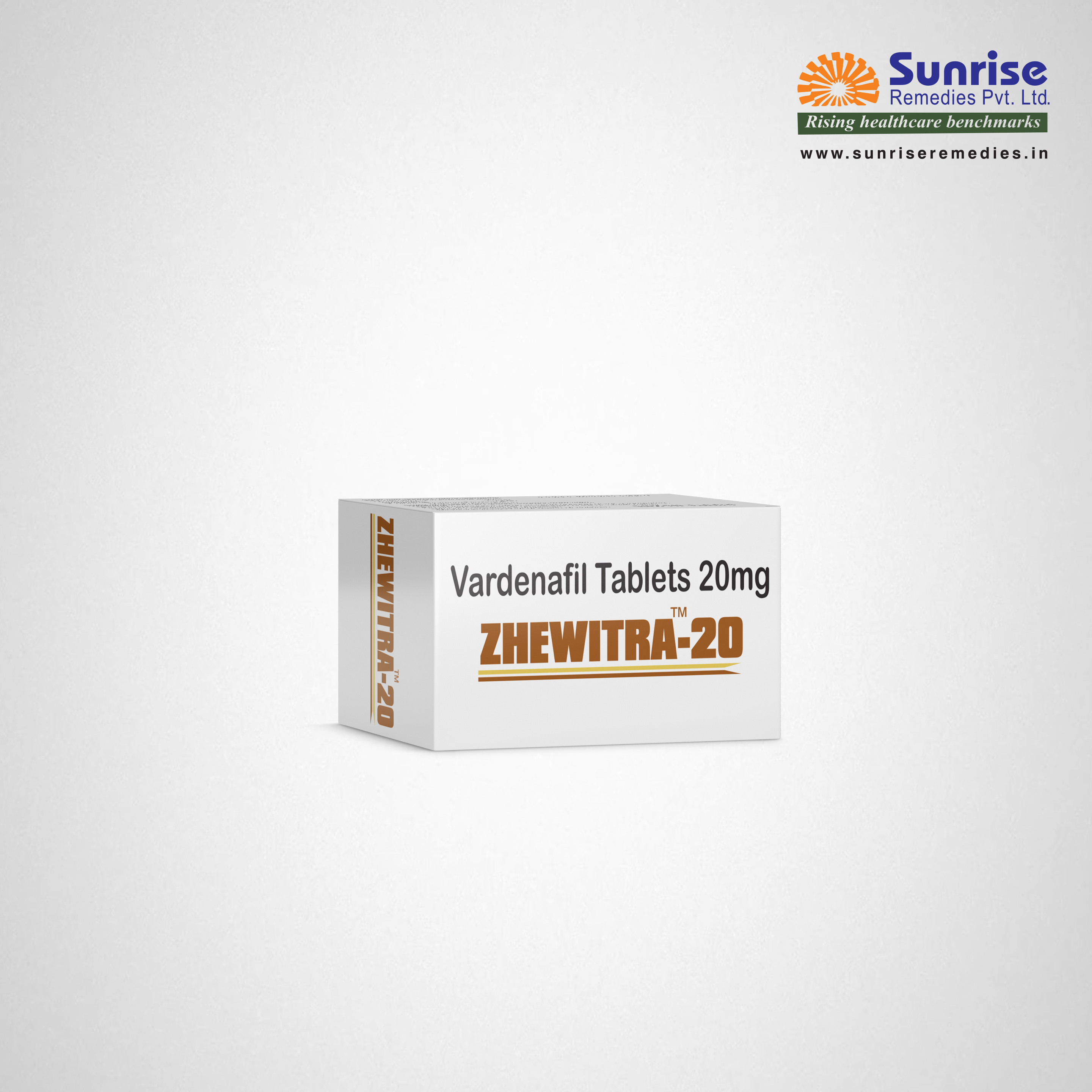 Zhewitra 20 | Vardenafil | SUnrise Remedies