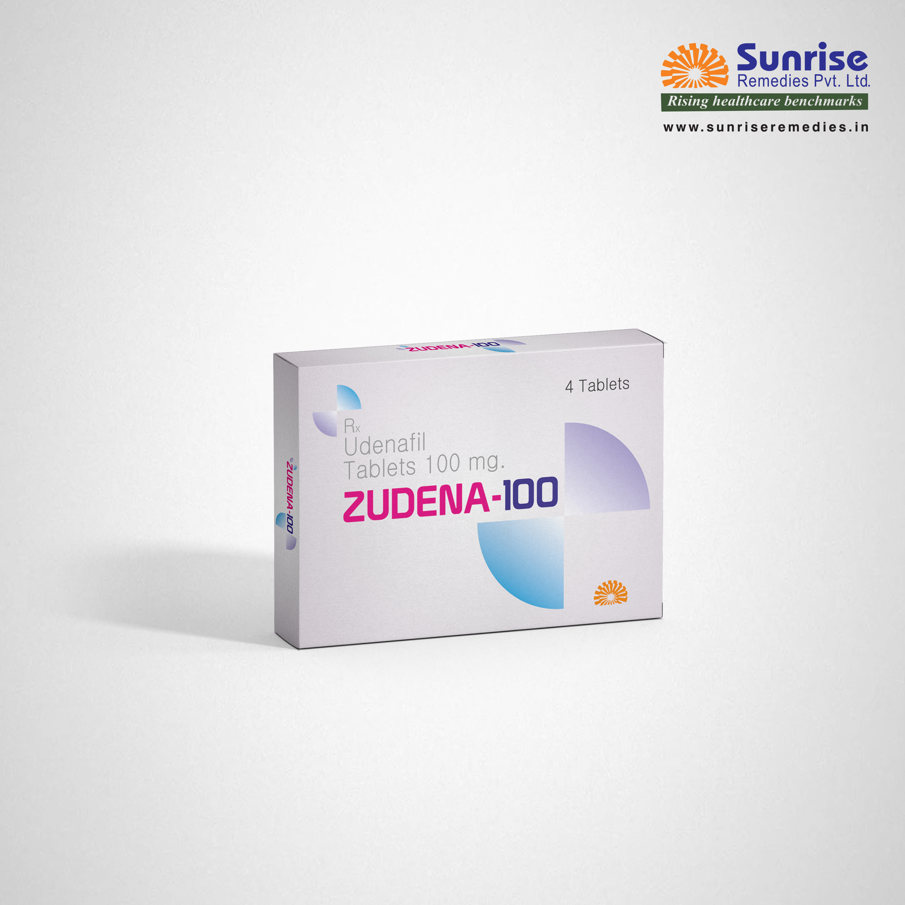 Zudena 100 | Udenafil | Sunrise Remedies