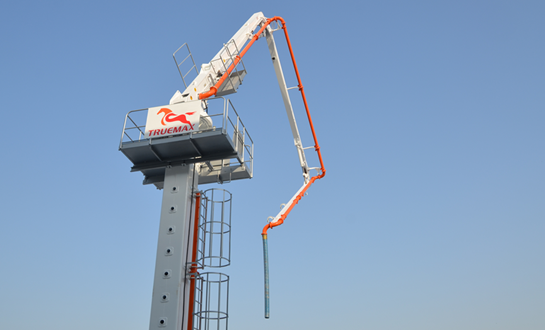 Concrete Placing Boom Column and Climbing Placing Boom