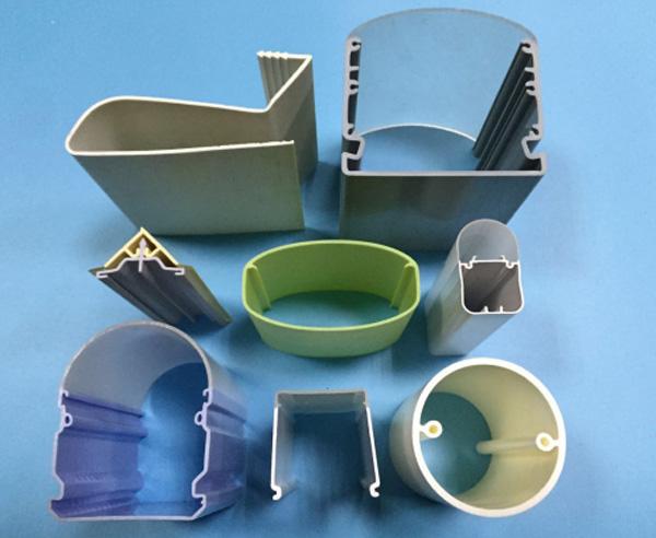 1050mm width PVC Composite Plastic Roof Tile Machine for ASA