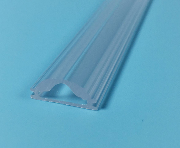 LED Lamp Shade,Custom Plastic Extrusion Led Cover