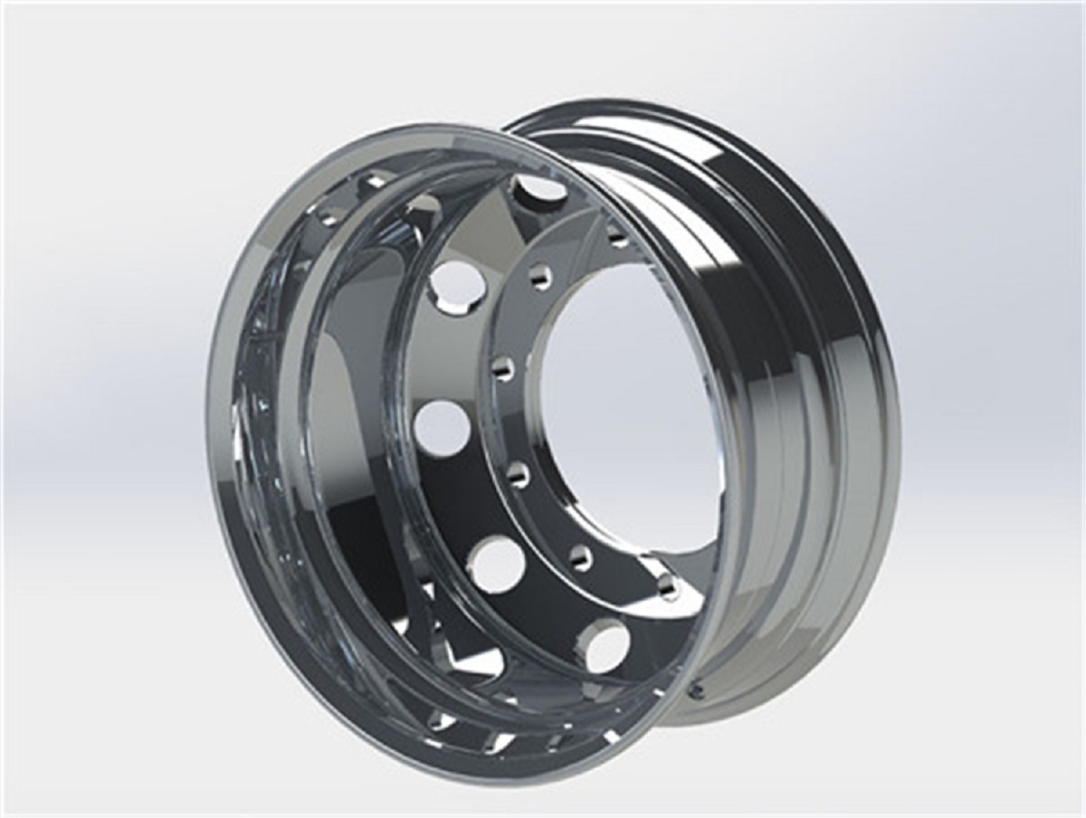 Diegowheels 22.5*9.0 Casting Flow Forming Aluminum Alloy Wheels,customized Machined Finish wheels