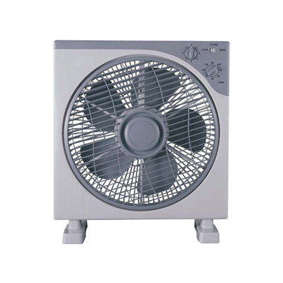China Convenient and comfortable 12 inches square box fan with louver wholesale