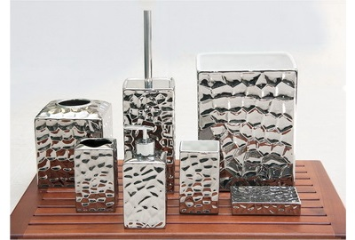 Ceramic 7 Piece Bath Set Collection