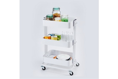 Three Tier Rolling Carts