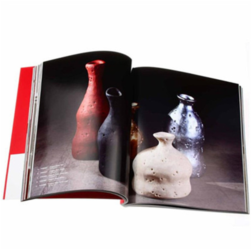 Top quality catalogue full color offset printing custom