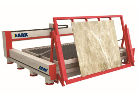 Water jet cutting machine for cutting glass stone metal