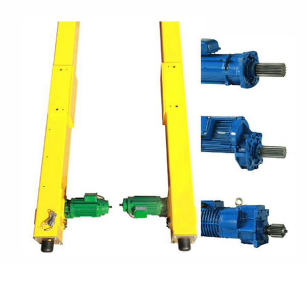 European electric single beam overhead bridge crane crane end beam end truck