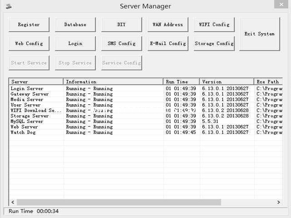 Center Management software-CMS server,Mobile DVR/ MDVR/ Car DVR