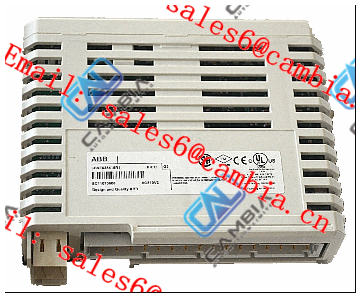 ABB	07KT97 GJR5253000R0200	plc power supply unit