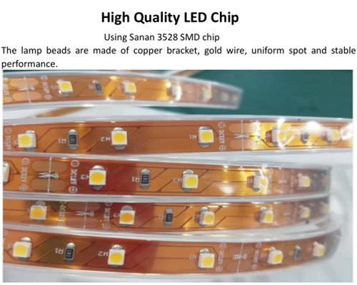 High quality Light box mobile phone cabinet 3528 casing low voltage LED light strip wholesale