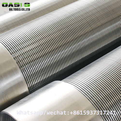304 stainless steel Johnson screen pipe China manufacturer