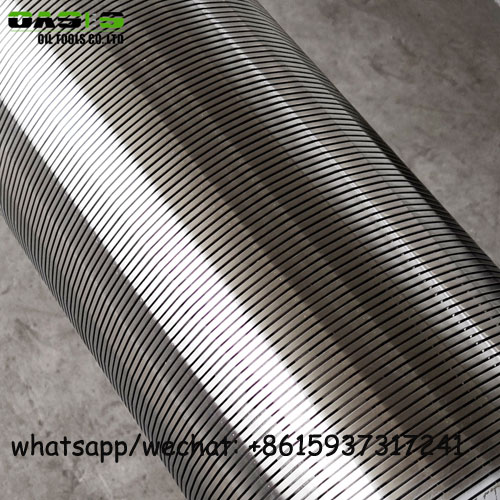 0.5mm slot stainless steel johnson wire strainer screens