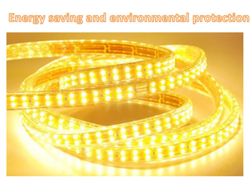 China high quality hot selling Home improvement ceiling outdoor 220V double row LED light strip wholesale