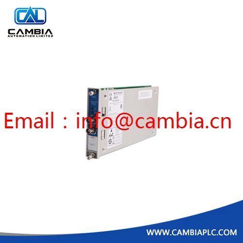 3500/15-05-05-00	BENTLY NEVADA	Email:info@cambia.cn