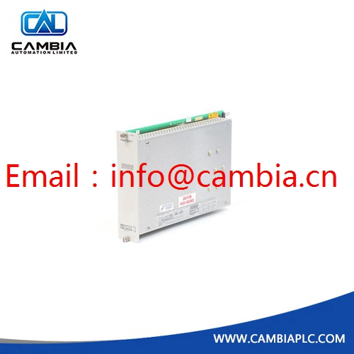 3500/92-03-01-02	BENTLY NEVADA	Email:info@cambia.cn