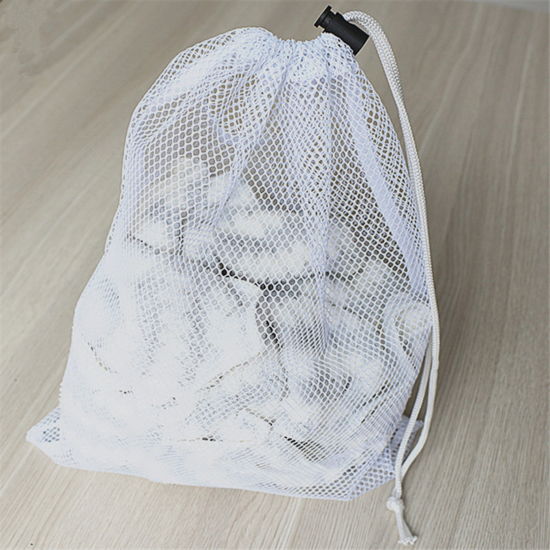 Sports Durable Mesh Drawstring Sports Equipment Bag,Travel zipper mesh laundry bag,Laundry Bag,Mesh washing laundry bag