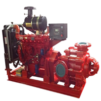 Diesel Fire Pump Set Split Case Type XBC-SOW