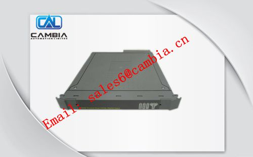 ICS TRIPLEX	T8110C	 Controller Chassis