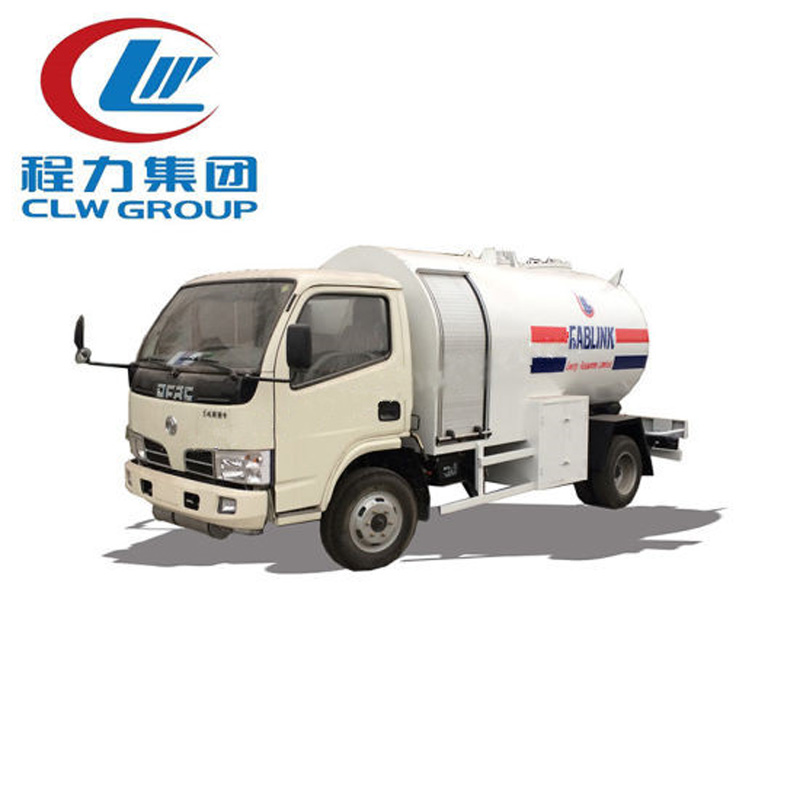 4X2 Dongfeng 5000 Liters LPG Transport Trucks