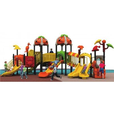 Plastic Slide Play Equipment