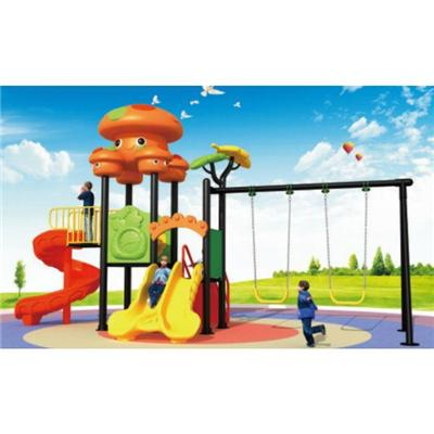 Outdoor Playground Plastic Garden Swing