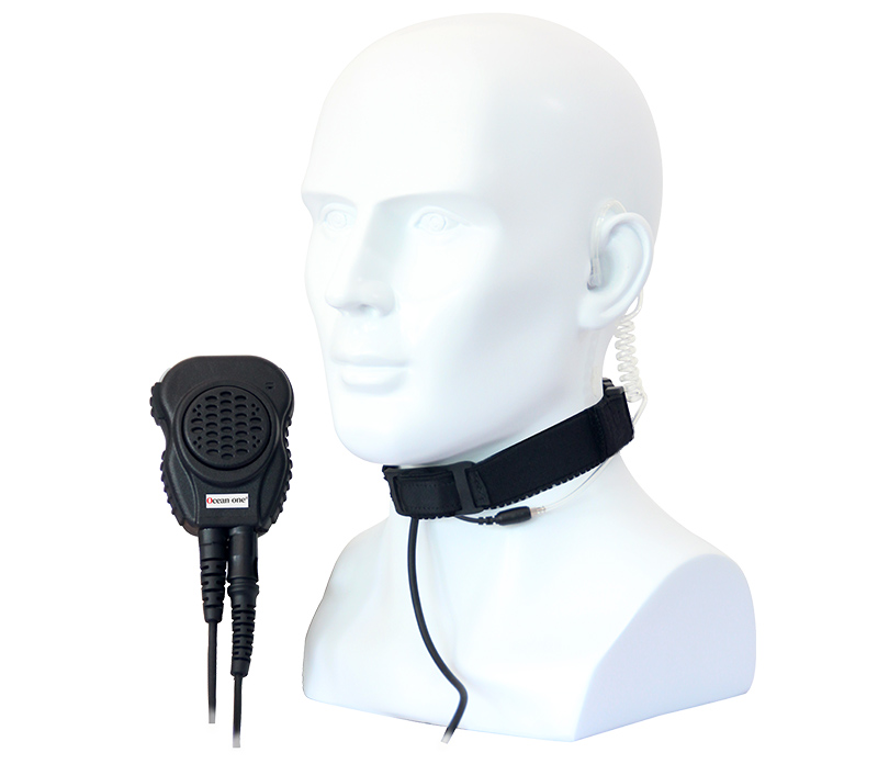 C-Headset-T88 Throat Microphone