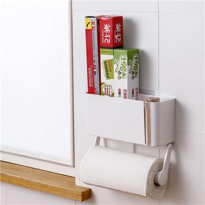 Suction Cup Adhesive Fridge Plastic Storage Box