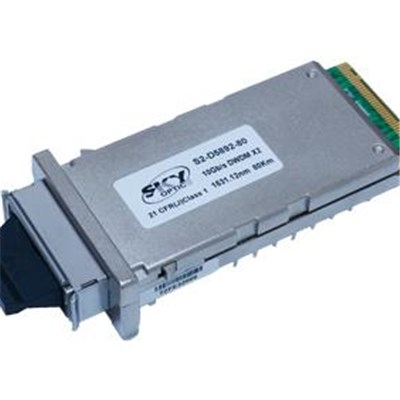 Transceiver module 10G ZR Ethernet X2 DWDM 80km cooled DWDM EML LD to achieve 80km multi-vendor compatible